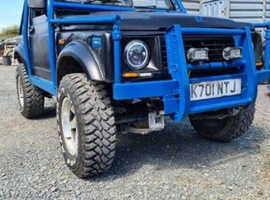 Suzuki sj 410 with 1.6 conversion 4x4
