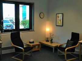 Affordable Therapy Room Hire in Lowestoft, Professional Environment with Reception and free Parking