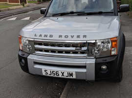 Land Rover Discovery, 2006 (56) Silver Estate, Manual Diesel, 91,000 miles