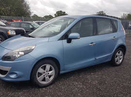 Renault Scenic, 2010 (10) Blue MPV, Manual Diesel, 71,000 miles