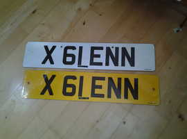 GLENN number plate £3995 REDUCED