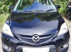 Mazda MAZDA 5, 2008 (57) Black MPV, Manual Diesel, 120,550 miles