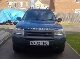 Land Rover Freelander, 2002 (02) Blue Estate, Manual Petrol, 150,000 miles