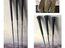 Golf club sets for sale various sizes 3 4 5 6 7 8 9 and makes Left and Right handed clubs NO BAG