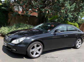 Mercedes Cls, 2005 (05) Black Coupe, Automatic Petrol, 143,000 miles