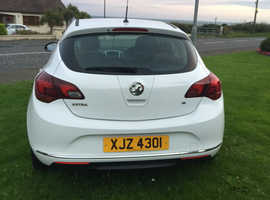 Vauxhall Astra, 2014 (14) white Other, Manual Petrol, 59000 miles