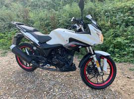 Lexmoto zsxf 125cc 2018 plate