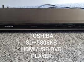 Toshiba SD-580EKB DIVX/HDMI/USB PROGRESSIVE DVD PLAYER