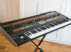 Roland Jupiter 8 keyboard synthesizer fully serviced with midi