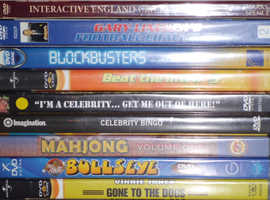 New DVD Games (price per dvd, cheaper in quantity)