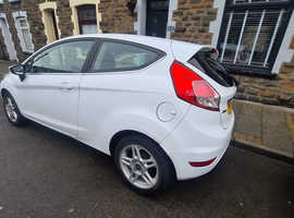 Ford Fiesta, 2013 (13) White Hatchback, Manual Diesel, 126,968 miles