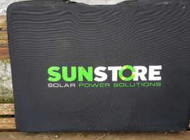 Sun store solar panel