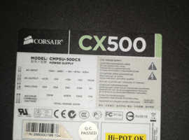 CORSAIR CX500 PSU