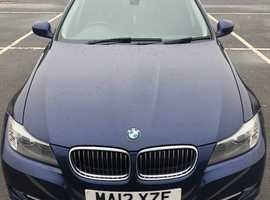 BMW 3 Series, 2012 (12) Blue Estate, Manual Diesel, 115,607 miles