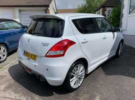 Suzuki Swift, 2014 (14) White Hatchback, Manual Petrol, 45,000 miles