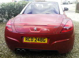 Peugeot RCZ, 2010 (10) Red Coupe, Manual Diesel, 126,000 miles
