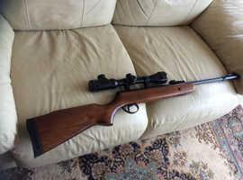 BSA super sport .22 air rifle
