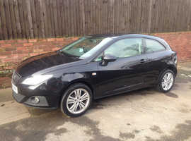 SEAT IBIZA SE, 2008 REG, LONG MOT, FULL HISTORY, HPi CLEAR, NICE SPEC WITH ALLOYS & CLIMATE CONTROL