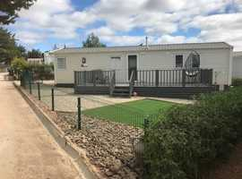 Algarve, Portugal, Lovely Furnished Willerby Avonmore 2019 Model Static Home on Lovely Pet Friendly Residential Site