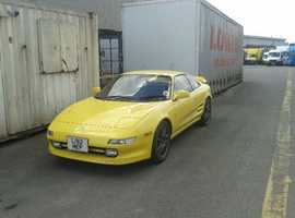 Toyota Mr2, 2007 (57) yellow coupe, Automatic Petrol, 60000 miles
