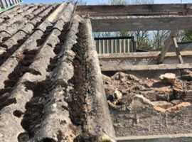 Asbestos Removal - Garages, Farm Buildings, Gutters, Pipes, Facias. Etc.