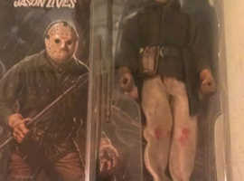 NECA JASON FRIDAY THE 13TH PART 6 RARE RETRO FIGURE