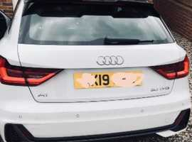 Audi A1, 2019 (19) White Other, Automatic Petrol, 10,000 miles