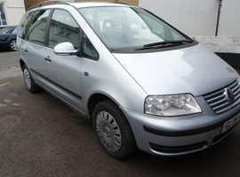 Volkswagen Sharan, 2005 (05) Silver MPV, Automatic Diesel, 174,000 miles