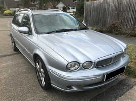 Jaguar X-TYPE, 2007 (56) Silver Estate, Manual Diesel, 155,000 miles nr. Horsham