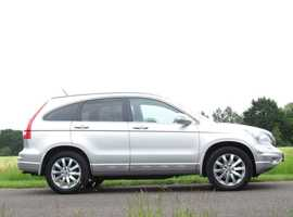 20102 62 HONDA CR-V 2.2 I DTEC EX 4X4. ONE OWNER FROM NEW. FULL SERVICE HISTORY. FULLY LOADED. 106000 MILES.