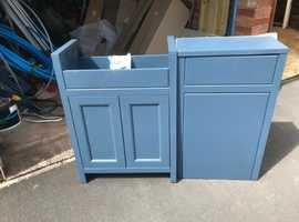 Vanity Unit and Matching draw/Cupboard