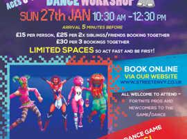 Fortnite Dance Workshop for Children