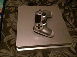 ps4 limited edition silver slim