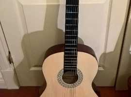Beatiful left handed Classic Cantable Acoustic Guitar