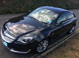Vauxhall Insignia, 2013 (63) Black Hatchback, Manual Petrol, 79,000 miles