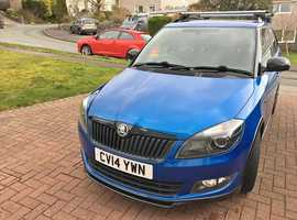 Skoda Fabia, 2014 (14) Blue Estate, Manual Petrol, 57,426 miles