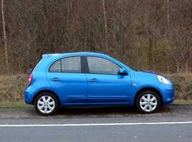 Nissan Micra, 2012 (62) Blue Hatchback, Manual Petrol, 45,000 miles, (01443) 831670