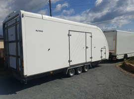 Woodford RL7000 tri axle tilt bed car transporter trailer