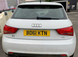 Audi A1, 2011 (61) White Hatchback, Manual Diesel, 62,219 miles