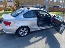 BMW 1 series, 2009 (09) Silver Coupe, Manual Diesel, 152,385 miles