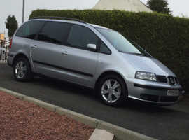 Seat Alhambra, 2008 (58) silver estate, Manual Diesel, 176,150 miles