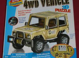 '4WD Vehicle' 3D Puzzle (new)
