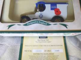 2 x ROYAL BRITISH LEGION VAN'S LIMITED EDITION'S;