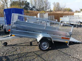 BRAND NEW Trailer 8,7 x 4,2 tipping single axle with 40cm mesh and ramp £1050 in Kirkcaldy