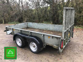 IFOR WILLAIMS GD105g 10X5 2700kg TRAILER ALL LIGHTS / BRAKES WORK SEE VIDEO