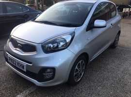 Kia Picanto City, 2013, petrol 1.0, silver, 34000 miles, 1 year MOT, tax free, very good condition