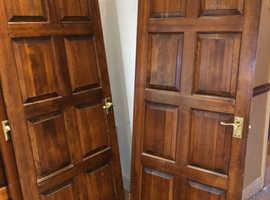 7 hemlock hard wood doors @ £20 each