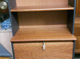 Office Shelving with Lockable Door