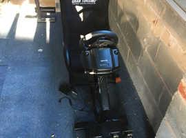 Logitech wheel with playchair