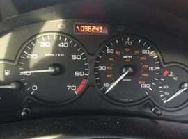 Peugeot 206, 2003 (03) Silver Hatchback, Manual Petrol, 93,038 miles
